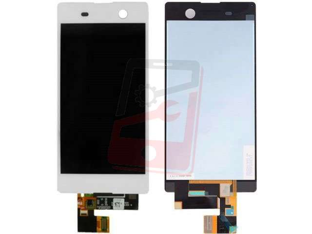 display cu touchscreen sony xperia m5 e5603 e5606 e5653 e5633 e5643 e5663 xperia m5 dual alb