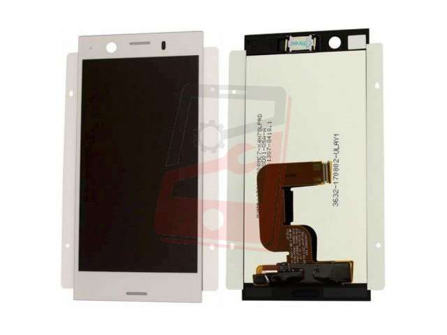 Display cu touchscreen Sony Xperia XZ1, F8341, F8342 argintiu