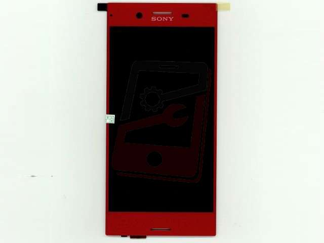 Display cu touchscreen Sony Xperia XZ Premium, G8141, G8142 rosu