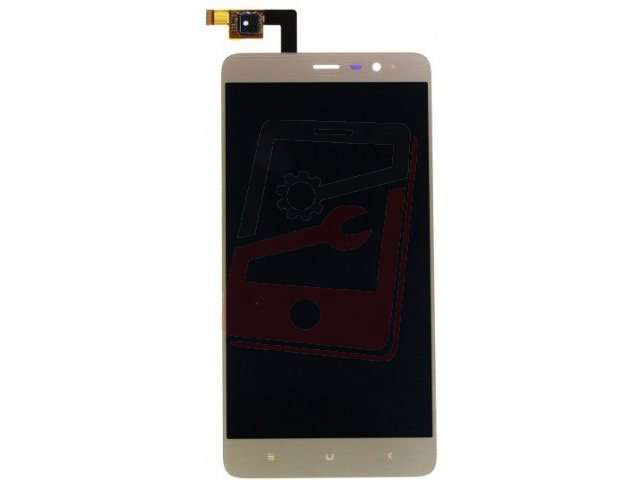 Display cu touchscreen Xiaomi Redmi Note 3 Pro auriu