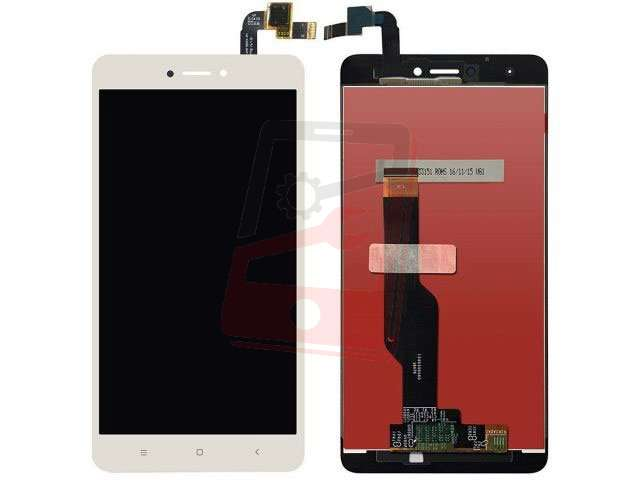 Display cu touchscreen Xiaomi Redmi Note 4X alb
