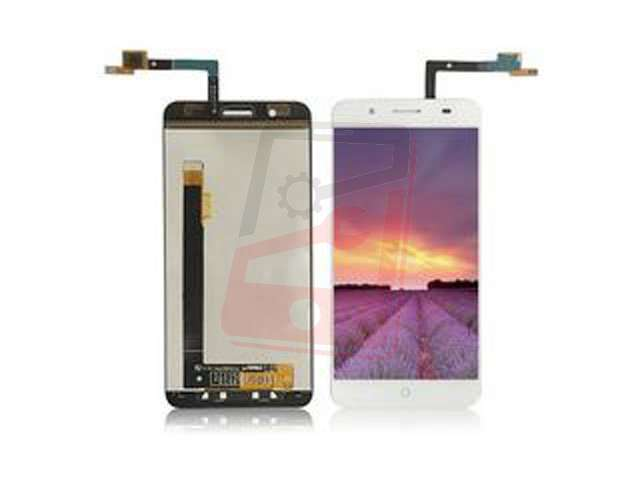 Display cu touchscreen ZTE Blade A610 plus alb