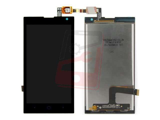 Display cu touchscreen ZTE Kis 3 Max , V830W, Orange Tado original