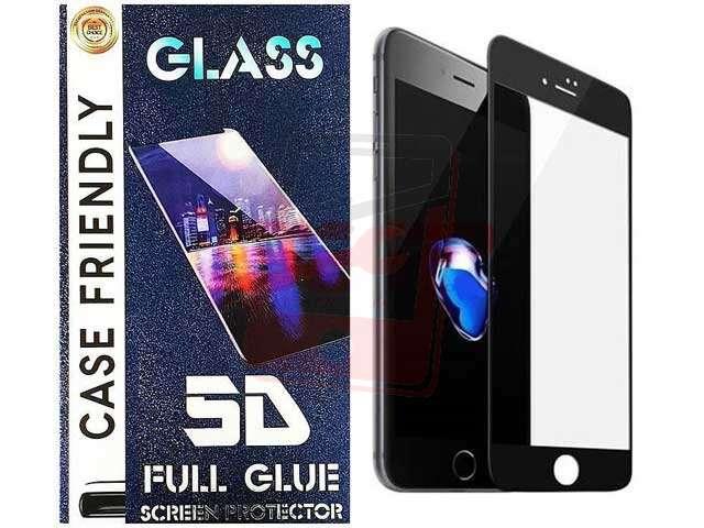 Folie sticla securizata 5D FULL GLUE Huawei Y5 2019 neagra