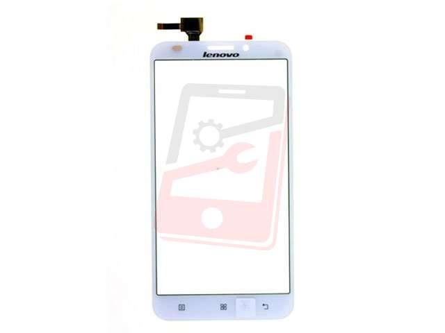Geam cu touchscreen alb Lenovo A916