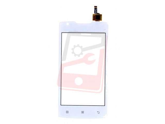 Geam cu touchscreen alb Lenovo A1000