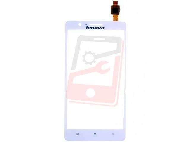 Geam cu touchscreen Lenovo A536 alb