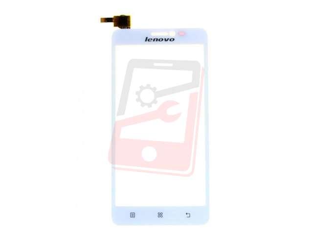 Geam cu touchscreen Lenovo S850 alb