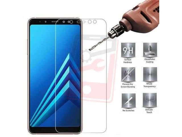 geam protectie 02mm touchscreen samsung sm-a605f galaxy a6 plus 2018 sm-a730f galaxy a8+ 2018 transparent bulk
