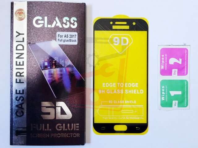 geam protectie display sticla 5d full glue samsung sm-a520f galaxy a5 2017