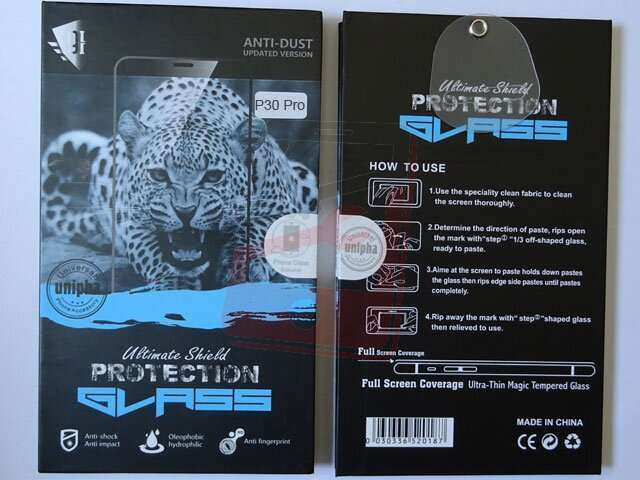 geam protectie display sticla 6d full glue huawei p30 pro