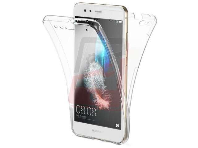 Husa fata + spate 360° TPU transparent Huawei P30 Lite