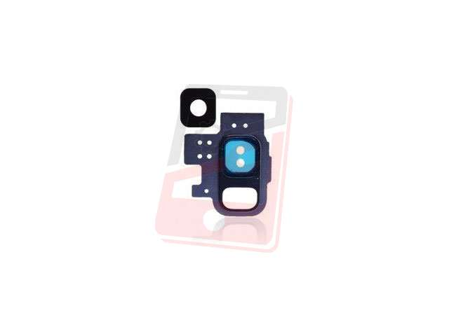 Kit inlocuire geam camera Samsung SM-G960F Galaxy S9 albastru