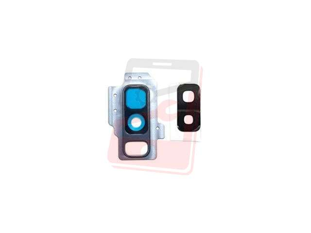 Kit inlocuire geam camera Samsung SM-G965F Galaxy S9+ albastru