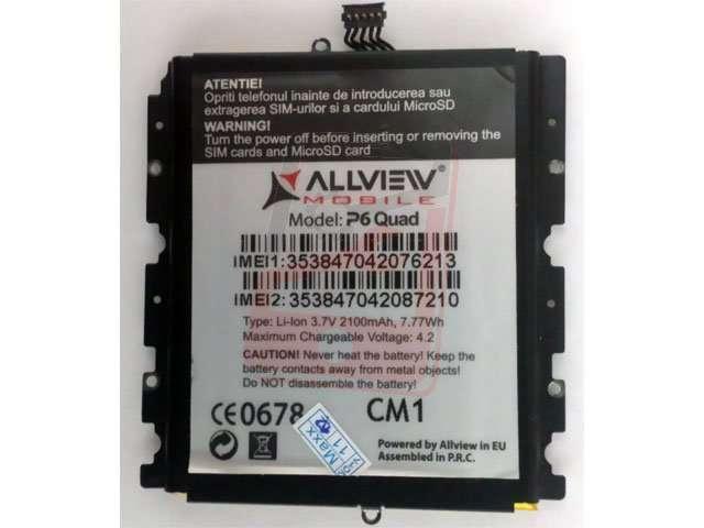 Acumulator S214 pentru Allview P6 Quad original