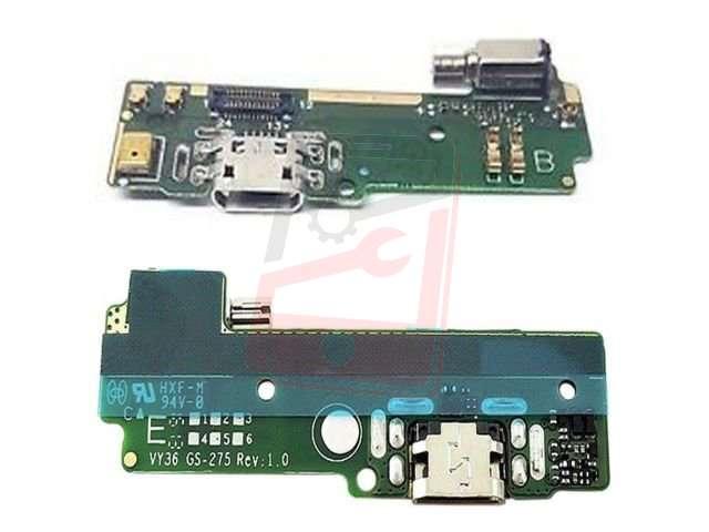 Placa cu conector alimentare Sony F3111, Xperia XA, F3112, F3115, F3116, Xperia XA Dual