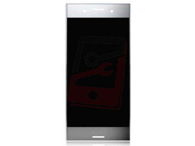 Display cu touchscreen Sony Xperia XZ Premium, G8141, G8142 argintiu
