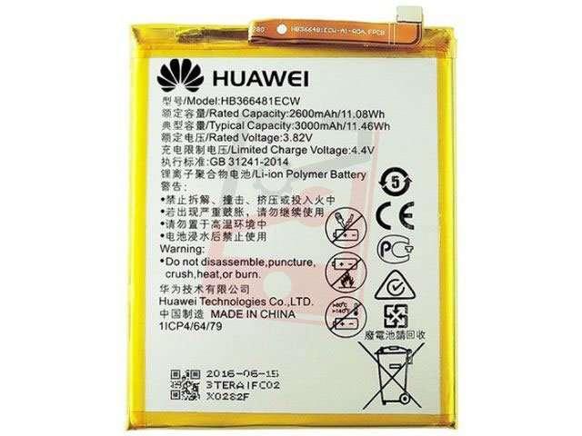 acumulator huawei hb366481ecw original pentru huawei p9 lite si huawei p10 lite