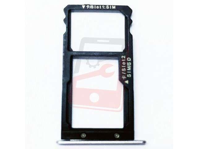 Suport sim si card Huawei G8, GX8 alb