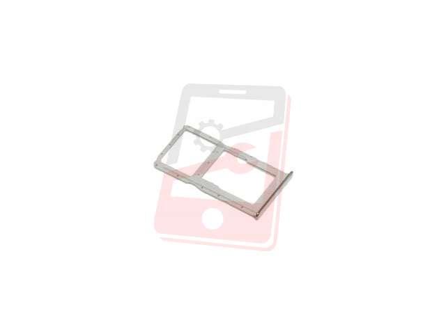 Suport sim si card Huawei P30 Lite, MAR-L01A, MAR-L21A, MAR-LX1A argintiu