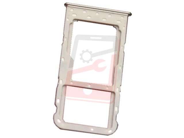 Suport sim si card Huawei P Smart, FIG-LX1, FIG-LA1, FIG-LX2, FIG-LX3 auriu
