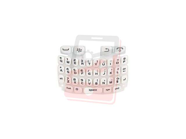 Tastatura Qwerty Blackberry 9220, 9320 Curve alba