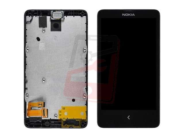 Display cu touchscreen si rama Nokia X, A110