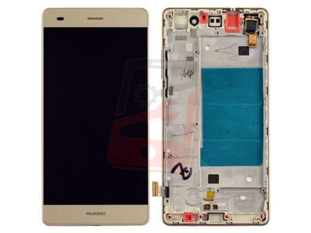 Display Cu Touchscreen Si Rama Huawei P8 Lite Ale