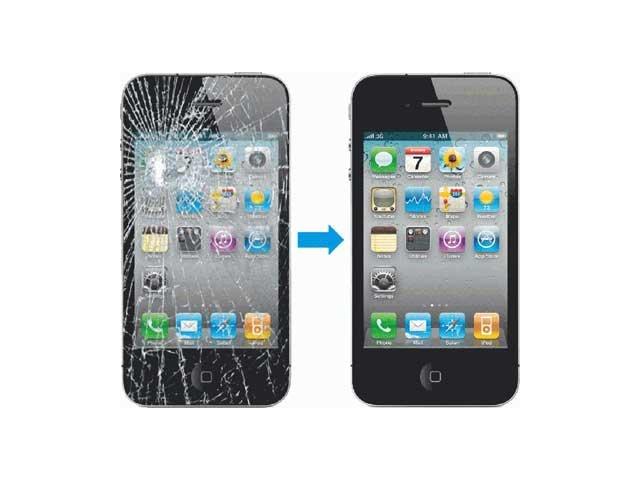 inlocuire schimbare geam sticla iphone 4 4s