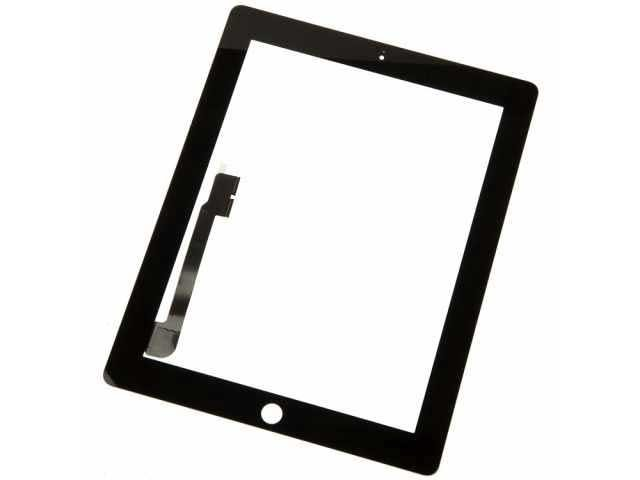 geam touchscreen apple ipad 3 ipad 4 negru