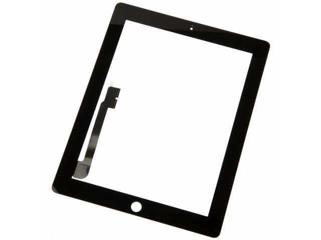 geam touchscreen apple ipad 3 ipad 4 negru