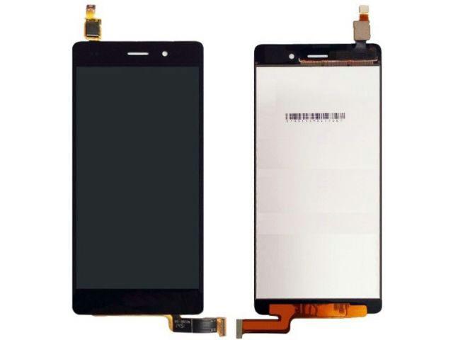 display cu touchscreen huawei p8 lite ale-l04 negru alb