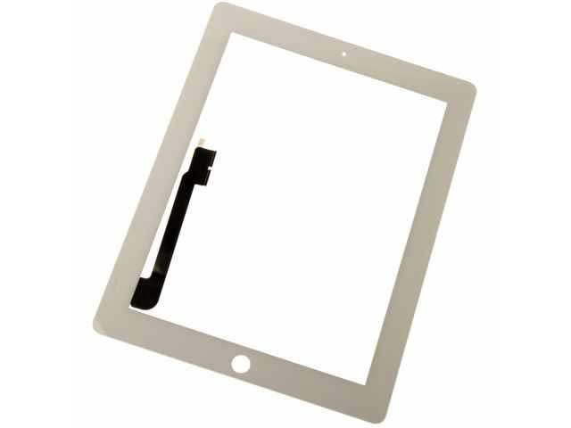 geam touchscreen apple ipad 3 ipad 4 alb
