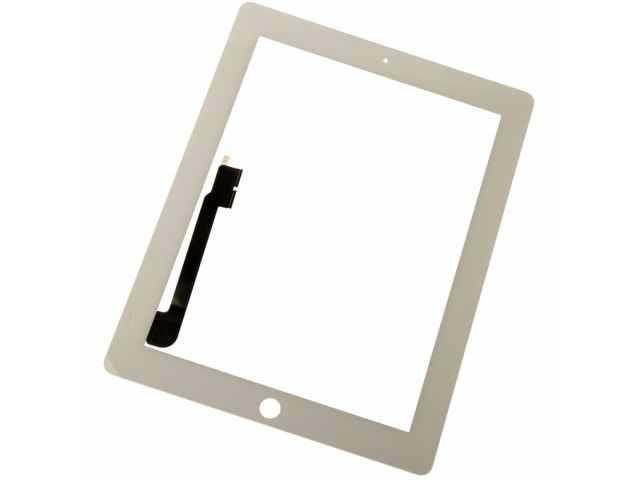 geam touchscreen apple ipad 3 ipad 4 alb