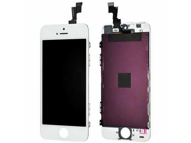 Display cu touchscreen si rama iPhone 5S, SE