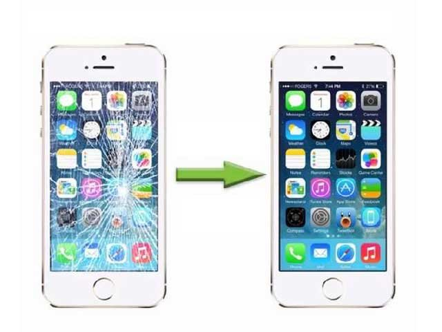 inlocuire schimbare geam sticla iphone 6 plus