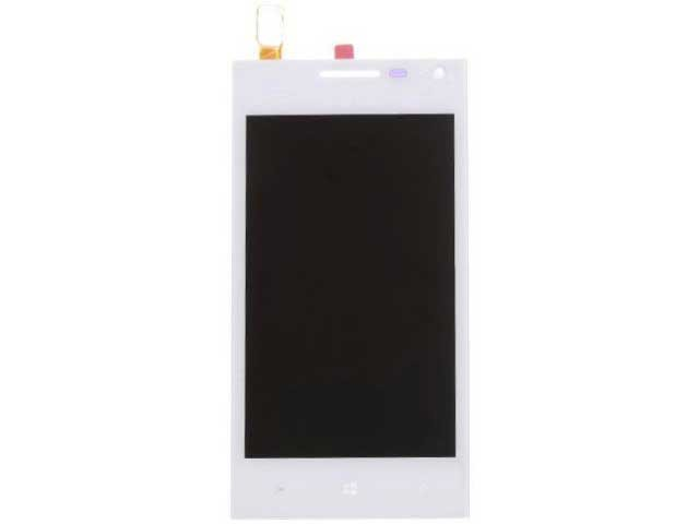 display cu touchscreen si rama huawei ascend w1 original