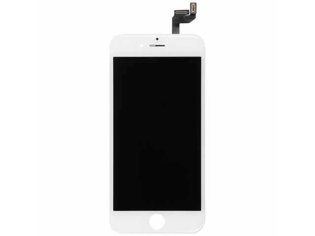 display cu touchscreen si rama iphone 6s alb