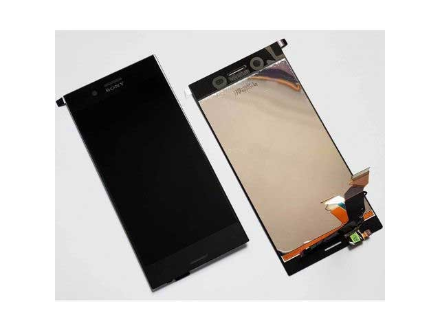 Display cu touchscreen Sony Xperia XZ Premium, G8141, G8142 original negru
