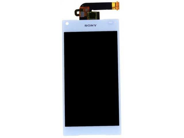 Display cu touchscreen Sony E5803, E5823, Xperia Z5 Compact alb original