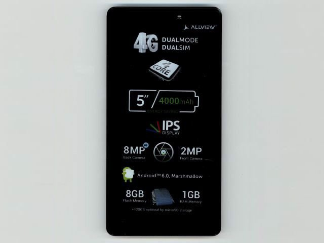 display cu touchscreen si rama allview p6 energy lite