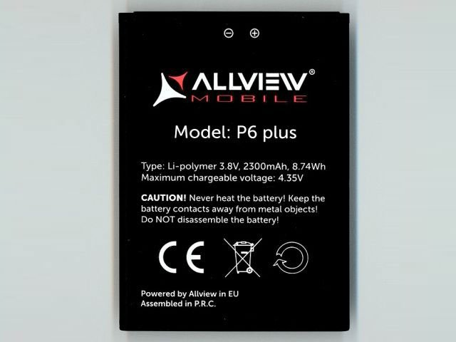 acumulator allview p6 plus original