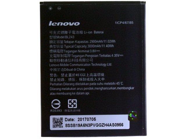 acumulator lenovo bl243 original pentru lenovo a7000