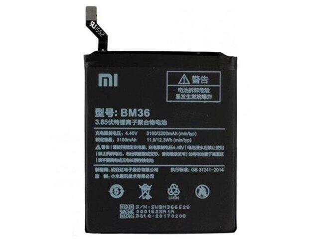 Acumulator Xiaomi BM36 original pentru Xiaomi Mi 5s