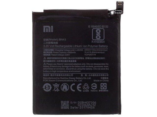 Acumulator Xiaomi BN43 original pentru Xiaomi Redmi Note 4X
