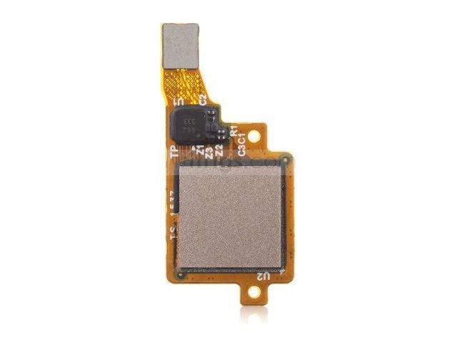 Ansamblu buton meniu, home Huawei G8, GX8 auriu original