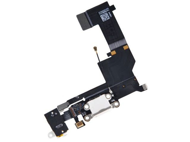 banda cu conector alimentare apple iphone 5s alb originala