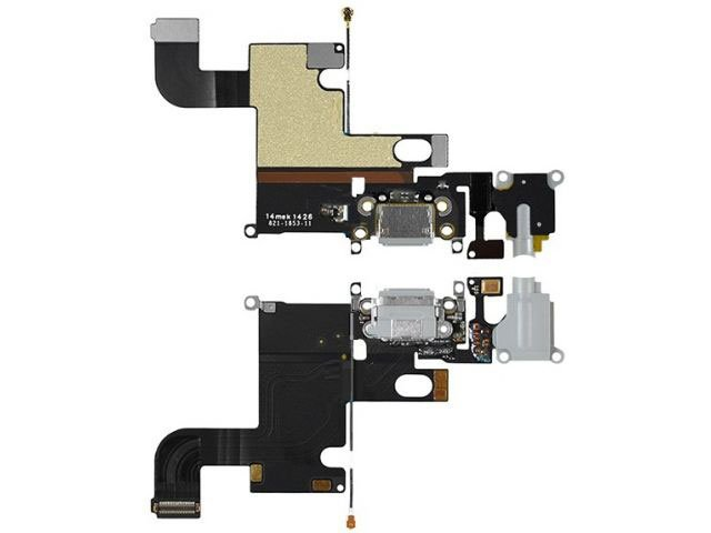 banda cu conector alimentare apple iphone 6 gri originala