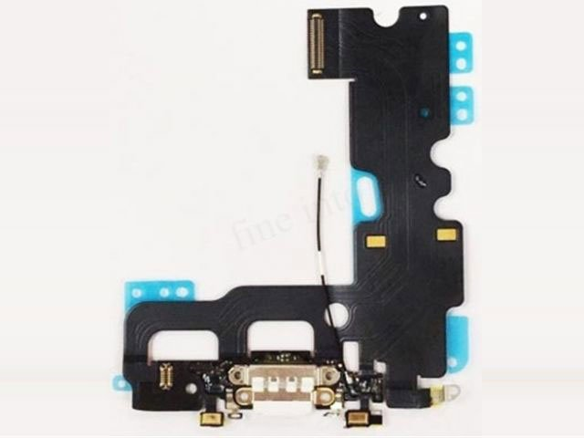 Banda cu conector alimentare Apple iPhone 7 alb ORIGINALA