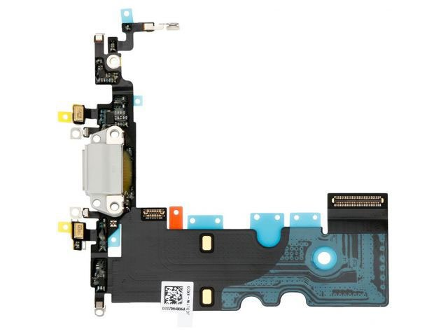 banda cu conector alimentare apple iphone 8 alb originala